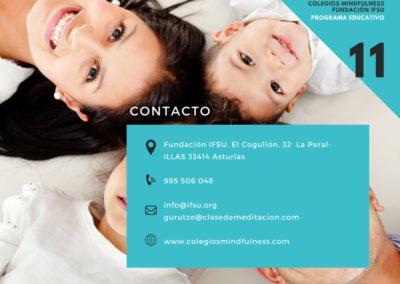 Contacto Colegios Mindfulness