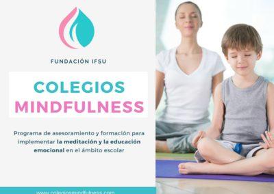 Colegios MIndfulness. Programa de asesoramiento y formación para implementar la meditación en el ámbito escolar
