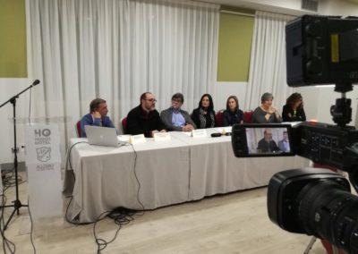 Presentación del Proyecto Colegios Mindfulness en Avilés, Asturias. Con la presencia de los alcaldes de Illas (Alberto Tirador) y Castrillón (Yasmina Triguero)