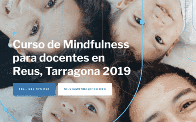 Mindfulness course for teachers in Reus, Tarragona.